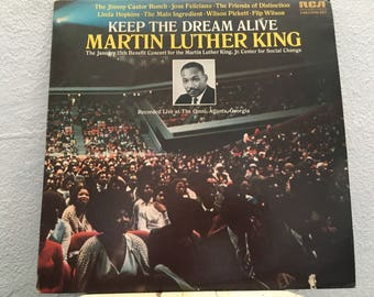 Keep The Dream Alive Martin Luther King, vinyl record, 2 LPs, Various Artists