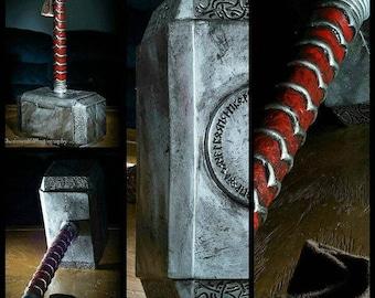 Thor Hammer Mjölnir Prop Costume Weapon - Avengers Ragnarok cosplay costume