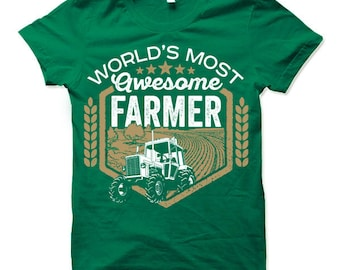 Cool Farmer Gifts. Farmer Shirt. Gift Ideas for Farmers.