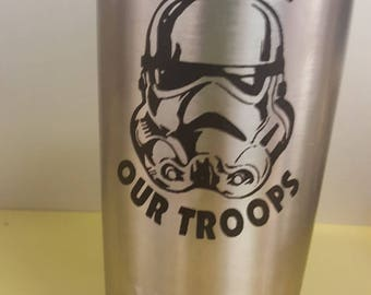 Support our Troops 20oz Yeti Mug