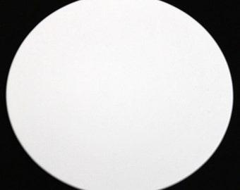 8 inch Non Metallic circles (25 circles) with Optional Holes | Circles 8 inch | Die cut Circles | 8 inch Cardstock Circles