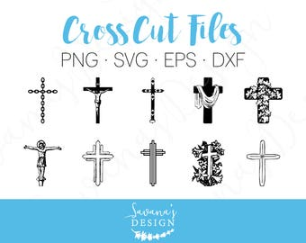 Cross SVG, Cross Bundle SVG, Easter SVG, Jesus Svg, Christian Svg, Religious Svg, Crucifix Svg, Bundle Svg, Cricut Svg Svg Files, Svg Svg