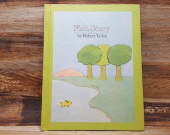 Fish Story, 1977, Robert Tallon, vintage kids book