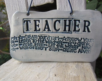 Inspirational Teacher Tile