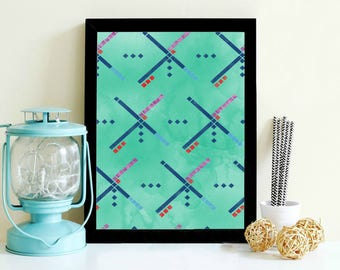 PDX Carpet- Digital Print- Wall Art