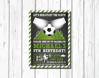 Sports Birthday Invitation with photo Sports Invitations