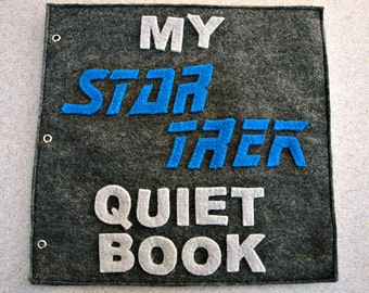 Star Trek Inspired Quiet Book (PATTERN)
