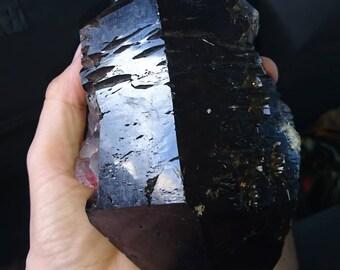 RARE Raw Black Amethyst Medium size