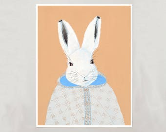 Art Print - Arctic Hare - Signed by Artist - 3 Sizes - S/M/L