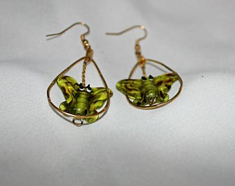 Autumn Butterfly Earrings