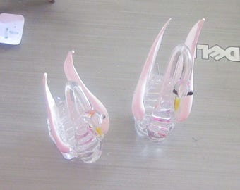 swan miniatures glass or china