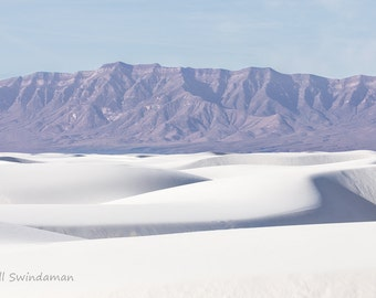 White Sands Desert Landscape Four