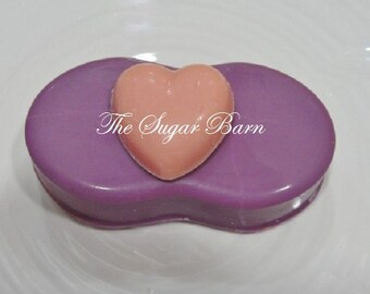 HEART CHOCOLATE Nutter Butter® Cookie*12 Count*Valentine's Day Gift* Valentine's Day Favor*Peanut Butter Cookie*Heart Candy