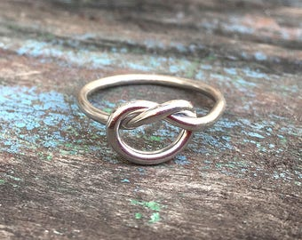 Natural Sterling Silver Ring - Silver Wire Band Ring - Blank Pad Handmade Ring - Gift For Her - Birthday Gift - Beautiful Silver Ring