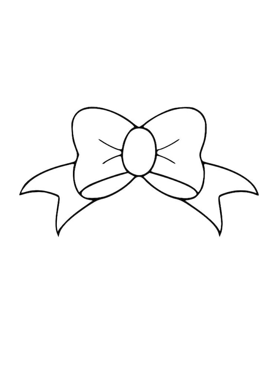 Bow Cheerleader Princess Baby Girl Outline Svg Digital