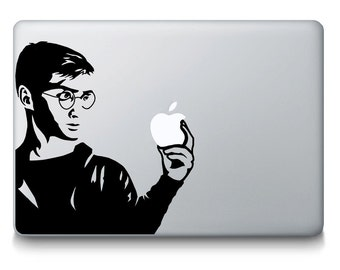 Harry Potter Order of the Pheonix Inspired MacBook Decal - Quidditch Hogwarts Wizard Witch Movie Golden Snitch MacBook Laptop Mac iPad Decal