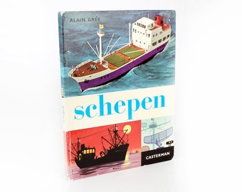 Vintage Children's books-ships-Alain Grée, 1966