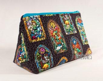 Legend of Zelda WindWaker Cosmetic Bag