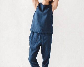 Ready to ship/ Linen pants/ Woman pants/ Natural linen pants/ Trousers/ Washed linen/ Soft linen pants/ #5 NOVA