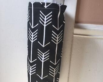 Grocery bag holders - Plastic bag holders - Kitchen organizer -  Fabric grocery bag holder - Plastic bag dispensers - Fabric bag dispenser