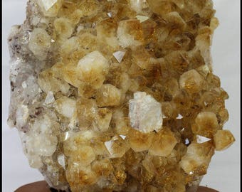 Citrine Geode Slab Gifts for Home Trendy Office Decor Birthday Gifts Boho Home Decor Metaphysical Chakra Reiki Crystal Meditation Stone