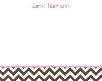 Personalized Flat Note Cards (size A7)