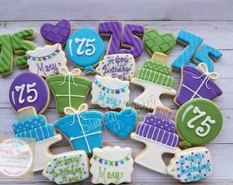 Birthday Celebration Cookies