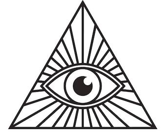 More Colors Illuminati Eye Pyramid