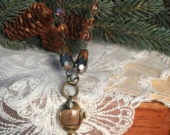 Vintage Watch Pendant Assemblage