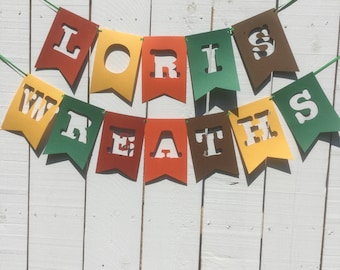 Large party/craft fair banner