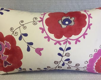 Floral Folly 16 x 24 inch PILLOW Cover