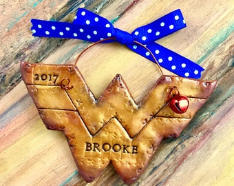 Personalized Strong Woman / Wonder Woman Inspired / Superhero / Super Mom Keepsake Ornament