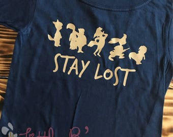 Disney Shirt | Neverland Shirt | Lost Boys | Peter Pan Shirt | Stay Lost