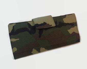 Women's Credit Card Wallet, 38 Credit Card Holder, Loyalty Card Organizer, Camouflag Wallet, Bi Fold Wallet, Women's Card Holder