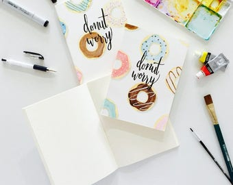 Donut Worry Notebook
