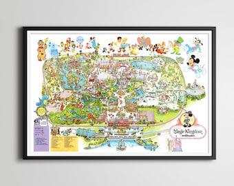 Disney map etsy gumiabroncs Images