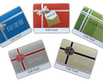 Gift Card Holder Variety Pack - 5 pack