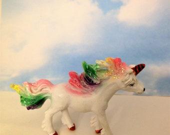 Miniature Resin Unicorn Figurine Fairy Garden Critters