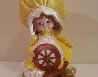 Pioneer/Prairie Girl Figurine