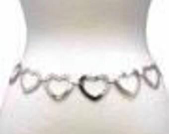 Heart chain belt