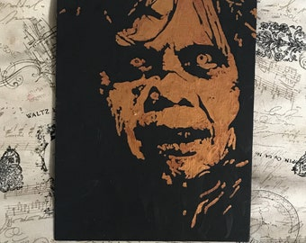The Exorcist ORIGINAL Painting