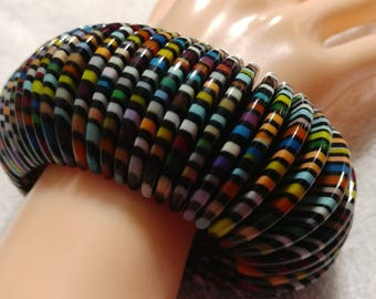 Sobral Signed Magazine Nights Half Moon Stretch Bracelet