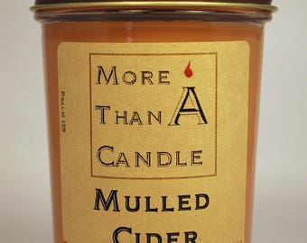8 oz Mulled Cider Soy Candle