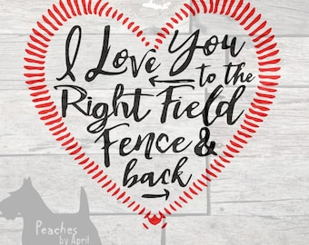 Download Centerfield Fence SVG Baseball SVG softball SVG mothers day