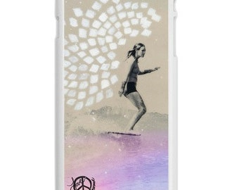 iPhone 6s/6, iPhone 6s/6 Plus Case, RESONATE Kassia Meador CA, iPhone 6s, iPhone 6s Plus, Surfing, Surf, Avail. with Black or White Sides