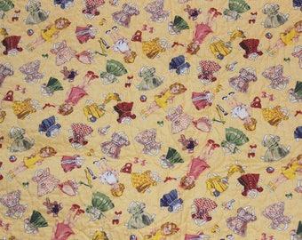 Paper Dolls Quilt/Blanket