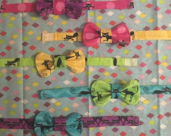 Cat Bowtie - Mix and match your favorite prints!!!