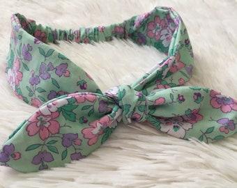 Baby Girl Headwrap | Baby Headband | Kids Headband | Floral Headband | Floral Headwrap
