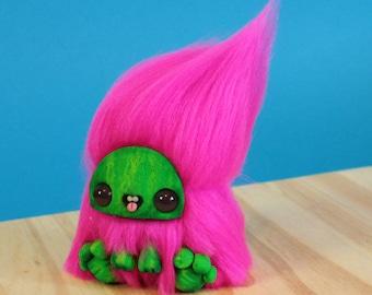 Mini Dorky Monsters - Watermelon Art Doll