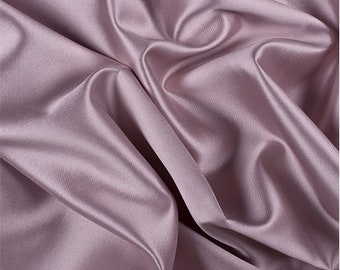 Rose Silk/Wool Gab, Fabric By The Yard